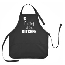 King of the Kitchen Apron, Father's Day Apron, Dad's Kitchen Apron - $23.71 CAD