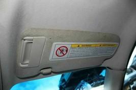 Passenger Sun Visor Illuminated 2 Door Coupe Fits 05-07 INFINITI G35 521027 - $57.42