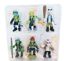 """2016 Teenage Mutant Ninja Turtles Viacom Playmates 2.5"""" Figures Set Of 6... - $28.77"""