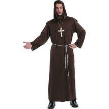 New Adult Mens Totally Ghoul Monk Halloween Party Costume Osfm Nwt Robe - $22.22