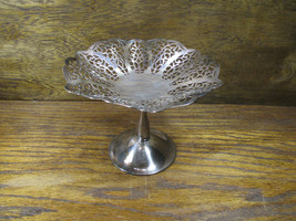 """VTG International Silver Co. Love Lace 6 1/4"""" Lovelace Footed Candy/Nut ... - $9.95"""