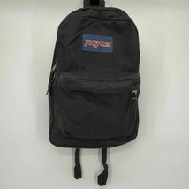 JanSport Unisex SuperBreak Backpack Black Zip Around Pocket School Class... - $31.75