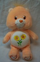 "Care Bears SOFT ORANGE FRIEND BEAR 8"" Plush STUFFED ANIMAL Toy - $16.34"