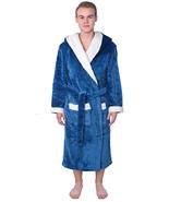 Men's Plus Size Plush Soft Big Warm Fleece Long Bathrobe Robe - Choose S... - $44.99+