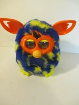 2012 Furby Boom! by Hasbro Multi-Colored  Blue/Yellow Working Order  - $12.86