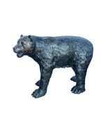 "Bear standing on four legs bronze statue  -  Size: 36""L x 16""W x 24""H. - $1,730.00"