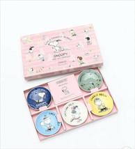 Peanuts Snoopy Minoyaki Set of 5 mini plates Gift Afternoon Tea - $61.71