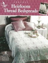 Heirloom Thread Bedspreads Crochet Rose Bower Lilac Pink Circles Butterflies OOP - $5.93