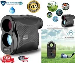 650 Yards Golf Laser Range Finder Hunting Telescope with Range Scan Slop... - $79.98