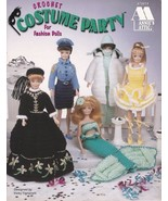 Costume Party Barbie Crochet Police Nurse Doctor Fire Fighter Ballerina ... - $7.87