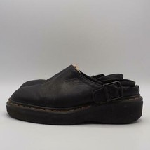 Dr. Martens Mules Slides Black Leather US Size 6 - $29.69