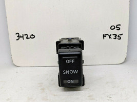 2005 Infiniti FX35 Snow Mode Control Switch (#3420) - $8.00