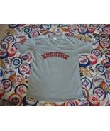 Houston Astros Corpus Christi Hooks V Neck Jersey Shirt Sz M - $15.83