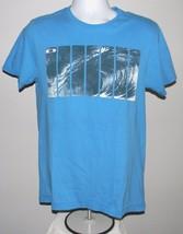 Men's Oakley T Shirt Medium Blue Oc EAN Wave - $21.73