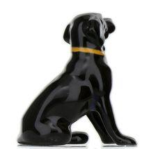 Hagen Renaker Dog Labrador Retriever Sitting Black Ceramic Figurine image 5