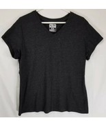 Champion Dry Duo Women's Size XXL T-Shirt Dark Gray V-Neck - $13.99
