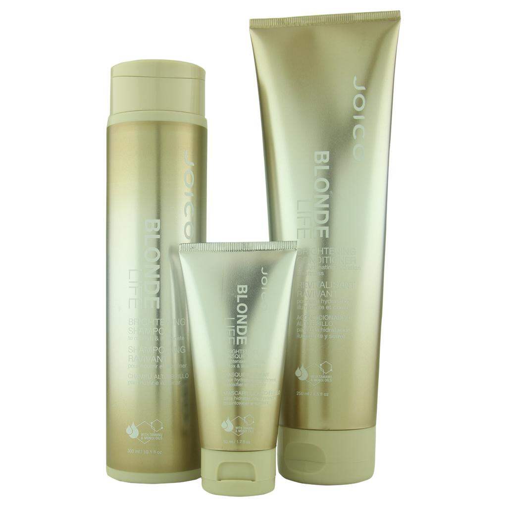 Joico Blonde Life Brightening Shampoo 10.1 oz & Conditioner 8.5 oz + Brightening