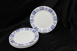 "Home Essentials Winterville Snowflake Xmas Dinner Plates Xmas 9.75"" Set ... - $38.71"