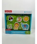 Fisher Price Jungle Animal Puzzle 12+ Months Kids Development game - $3.80