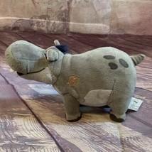 "Disney Plush Toy The Lion King Guard Beshte The Hippo 9"" Small Stuffed A... - $14.24"