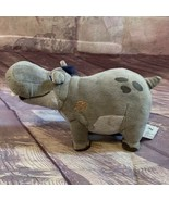"Disney Plush Toy The Lion King Guard Beshte The Hippo 9"" Small Stuffed A... - $14.24"