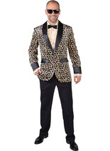 Teddy Boy / Rockabilly / Showman JACKET - Leopard Print , XS - XXL  - $49.87+