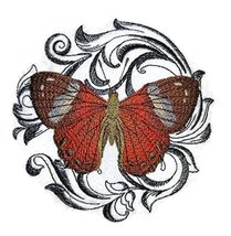 Custom and Unique Amazing Colorful Butterflies [Harlequin Metalmark with... - $9.89