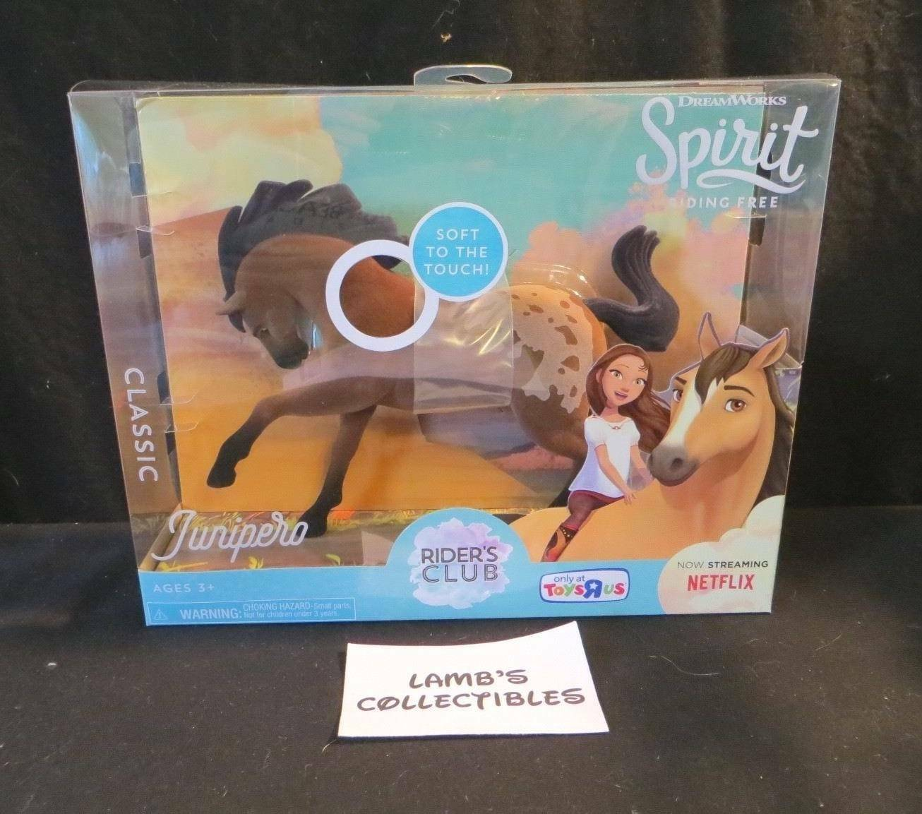Primary image for Dreamworks Spirit riding free Toys R Us exclusive rider's club Junipero classic