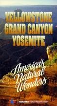 Yellowstone Grand Canyon Yosemite: America's Natural Wonders - VHS Tape