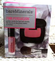 Bare Minerals Pink Persuasion Blush & Lip Gloss Collection - Boxed - $12.99