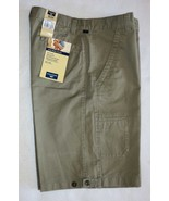Dockers Side Panel Short Easy Care Cell Phone Pocket Size 33 Flat Front NWT - $22.23