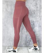 Casual Mesh Stitching Yoga Running Sport Slim Leggings - $22.99