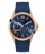 GW0012G3 Men's Guess Orbit Blue Strap Wristwatch - $133.30