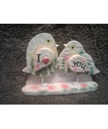 New !!!   Standing Love Bird Deco,  Multi-Colored Made from Resin. Size ... - $4.21
