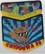 Lodge  29 Chippewa 2009 NOAC 2-piece OA flap set (Chippy's Crew) - $14.85