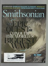 Smithsonian  July / August 2018 Biggest Wave, Rescuing History, Fascism'... - $1.47