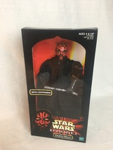 DARTH MAUL - Star Wars EPISODE I - Unopened Fully Poseable Action Figure  - $100.00