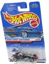 1998 Hot Wheels First Editions Black  Super Modified Dragster
