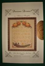 Passione Ricamo Italian Cross Stitch Pattern Autumn Sampler - $4.99