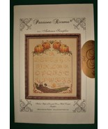 Passione Ricamo Italian Cross Stitch Pattern Autumn Sampler - $4.99
