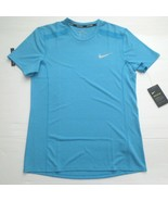 Nike Men Cool Miler Running Shirt - 892994 - Aqua 482 - Size M - NWT - $24.99