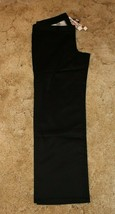 "Girl's Dickies Uniform Pants Stretch Fabric, Size:16 38.5"" x 32"" Black - $14.80"