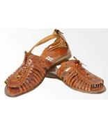 Women's 222 genuine huaraches mexican sandals flip flop - £28.70 GBP