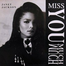 JANET JACKSON - MISS YOU MUCH U.S. 12 INCH SINGLE RECORD 1989 4 TRACKS - £6.37 GBP