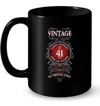 Vintage 1977 41 Years Old Birthday Gift Coffee Mug - $13.99+