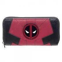Marvel Deadpool Juniors Suit Up Zip Around Wallet - $29.40