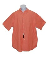 Men's Casual Classic Fit Button Front Shirt by Polo Ralph Lauren Orange ... - $38.75