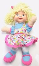 Goldberger Babys First Hannah Prayer Doll Blonde Heart Dress 4 Prayers - $25.59