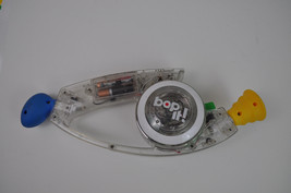 Hasbro 2008 BOP IT Clear Hand Held Electronic Relex Game Tested and Working - $12.30