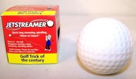 PRANK STREAMER GOLF BALL golfing balls jokes sports gag - $4.50
